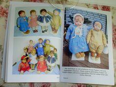 Wunderbare Bilder in dem Buch: Vom Zauber alter Puppen gefangen. Autorin Anita van Ooyen.