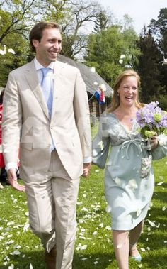 Princess Margarita of Bourbon Parma and Tjalling Ten Cate, May 8, 2008