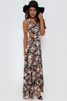 The Fashion Bible Poppy Cross Back Floral Maxi Dress Dresses @ The Fashion Bible. The Fashion Bible features a fantastic range of Fashion clothing from great Brands. Visit The Fashion Bible online today! Fashion Bible, Floral Maxi Dress, Poppy, Bohemian, Fashion Outfits, Dresses, Design, Vestidos, Fashion Suits