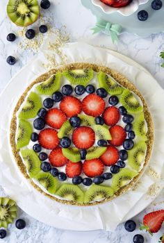 Sprinkles Dress: Fruit pizza all'avena