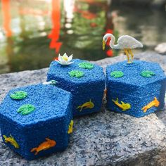 Loving this beautifully customized set of Keepsake Boxes  . . . #organizer #keepsakebox #jewelrybox #customize #koi #lily #3Doodler #DIY…