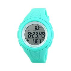 #womens #watches TOPCABIN Men's and Women's Teenager Waterproof Electronic Multi-function Step Counter outdoor Sports Swimming Students Pedometer Fashion Watches Electronic Sport Watch for Women Junior Boys Girls