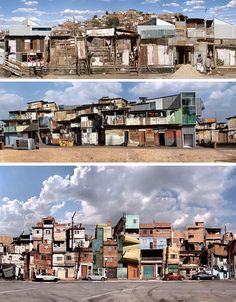 Br(az)illiant: Restructuring Shanty Towns For the Future