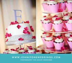 #wedding #cake #cupcakes