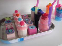 American Girl Cupcakes and Milkshakes