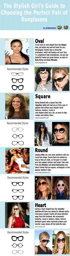 99629a9c95b Die stilvolle Anleitung für Mädchen zur Auswahl der perfekten Sonnenbrille   anleitung  auswahl  madchen