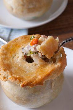 Chicken Pot Pie In A Jar #12bloggers