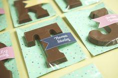 Chocolade letters - ooit aan denken bij Sinterklaas!