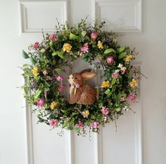 Boxwood Wreath. Easter Wreath. Spring Wreath. by SimplySundayShop