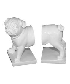Look what I found on #zulily! Dog Bookends #zulilyfinds
