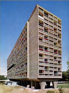 Unidad de Habitación en Marsella de Le Corbusier