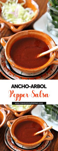 How to make Ancho Arbol Pepper Salsa │This Ancho-Arbol Chile Pepper Salsa is excellent for those that love spicy sauces. You can adjust the spiciness by adding more Ancho peppers and reducing the amount of Arbol peppers. It is an easy recipe, and it lasts up to 4 days in your fridge. This salsa freezes very well, too. Pepper #mexicanfood #mexicanrecipes #easyrecipes #homecook