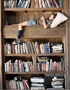 We'd love to be able to do this - but we'd need a bigger bookshelf!