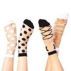 Be in foot style. On Pointe Sheer Socks are available in two assorted styles: Polka Dots and Ballerina and in 2 Colors: Black and White. Arrives packaged to a gift card. Things Kids Say, Sheer Socks, Bride Gifts, Wedding Gifts, Father Of The Bride, Wet And Dry, 2 Colours, Polka Dots, Lace Up