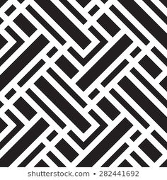 Vector seamless pattern, geometric background Black and white Pattern Images, Pattern Art, Pattern Design, Laptop Design, Front Gate Design, Leather Seat Covers, Mosaic Designs, Geometric Background, White Patterns