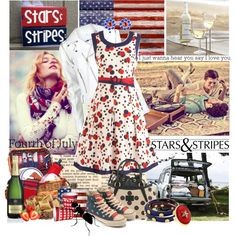 Ant attack - 4th of July by ajkc on Polyvore