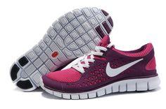 #WholesaleShoesHub | nike womens shoes | Nike Free Run Women's Shoes Pink Purple Sale