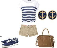 """School Outfit"" by bombaloo on Polyvore"