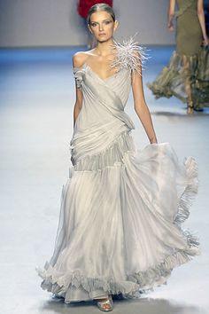 Zac Posen Spring 2008 Ready-to-Wear Fashion Show - Lily Donaldson