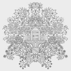 livro jardim secreto johanna basford | Resenha: Jardim Secreto - Johanna Basford @editoraarqueiro