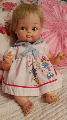 "Vintage Horsman Doll ~Blond~ Blue Eyes ~17"" ~1970 ~USA #Dolls"