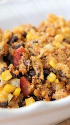 Slow Cooker Chipotle Quinoa Bake + Enchilada Filling via @AOL_Lifestyle Read more: http://kitchenbelleicious.com/2014/09/09/slow-cooker-chipotle-quinoa-bakeenchilada-filling/