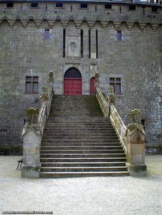 Chateau de Combourg Chateau Medieval, Château Fort, Brittany, Castle, Photos, Stairs, Adventure, Home Decor, Ruins