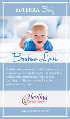Booboo Love - My go-to doTERRA oil when my child has a booboo!