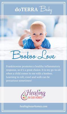 Booboo Love - My go-to doTERRA oil when my child has a booboo!