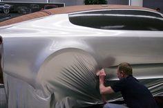 Kia Stinger clay modeling process
