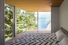 "The Gambier Island House by Mcfarlane Green Biggar Architecture + Design ""Location: Gambier Island, Sunshine Coast F, BC, Canada"" 2013"