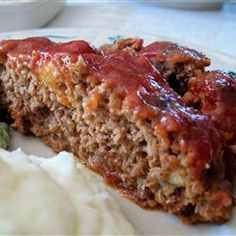 The Best Meatloaf I've Ever Made - DEEEE-licious meatloaf. I used Unsalted Purity crackers...so any crackers will do. I used Fat Free Sour Cream. My can of tomato sauce was bigger than suggested. Keep that and heat it up with the ketchup or just use heated ketchup for extra sauce. Soooooooooo easy and good!!!