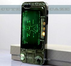 Pipboy 3000 fallout new vegas iPhone 4/4S Case by CuteCaze, $15.49