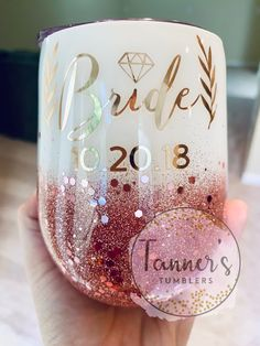 12 Sensational Wine Tumbler Soft Digits Wine Tumbler Insulated With Lid Diy Tumblers, Personalized Tumblers, Custom Tumblers, Glitter Tumblers, Vinyl Crafts, Diy And Crafts, Gifts For Wedding Party, Wedding Cups, Wedding Ideas
