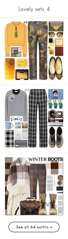 """Lovely sets_4"" by krgood7 ❤ liked on Polyvore featuring F.R.S For Restless Sleepers, Miu Miu, Roger Vivier, Dareen Hakim, MANGO, NARS Cosmetics, Butter London, Casetify, Yves Saint Laurent and H&M"