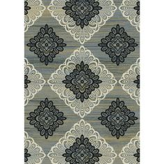 Regal Contemporary Taupe-Grey Rug (7'10 x 10'10) | Overstock.com Shopping - Great Deals on 7x9 - 10x14 Rugs