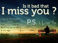 I miss you text messages