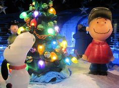 CHARLIE BROWN ON ICE! - Charlie Brown and Snoopy