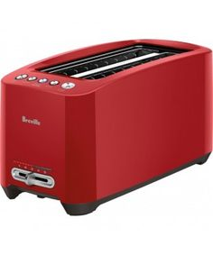 Breville 4 Slice Lift & Look Touch Toaster - Red