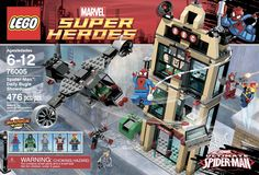 Lego: Super Heroes: Spiderman: Spiderman Daily Bugle Showdown  Age: 6 - 12 Years Old  UPC: 673419190435