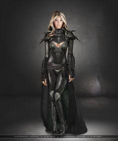 Inspiration for next wrestling outfit FOR SURE! Fantasy Warrior Woman: Kate by ~SilentArmageddon on deviantART