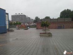 Boombank DeLuxe Ovaal bij School in Amsterdam