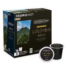 Laughing Man Colombia Huila Coffee K-Cups => You will love this! More info here : K Cups