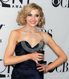 © Laurence Agron   Dreamstime.com- Nina Arianda wins her first Tony Award for her riveting leading actress performance in Venus in Fur. The occasion was the 66th Annual Tony Awards in New York City on June 10, 2012.