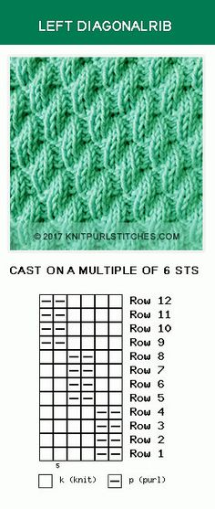 153 Best Knit Purl Combinations Images On Pinterest Knitting