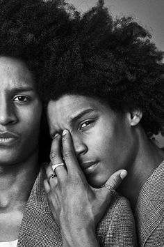 Les Twins: Laurent Bourgeois and Larry Bourgeois (Portrait)