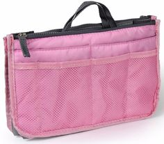 iMounTEK Nylon Handbag Organizer With 13 Compartments Including 2 Zipper Pockets    eBay