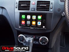 Mercedes Benz C-Class with Apple CarPlay installed by DriveSound.