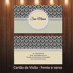 Arte Cartão de Visita - cód-16-15