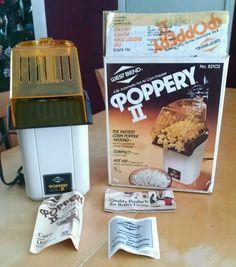 West Bend Poppery II 4 Qt Hot Air Popcorn Popper Bean Roaster 1200 watts in Home & Garden, Kitchen, Dining & Bar, Small Kitchen Appliances | eBay